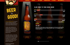 Atwater Brewery Beer Selector