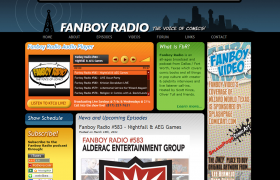 Fanboy Radio Audio Player
