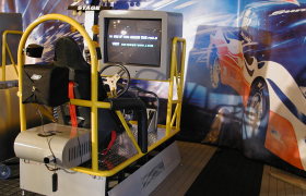 GM Tuner Tour Drag Racing Kiosk