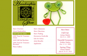 Handcrafters Unlimited Website
