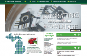 Michigan State University AgBioResearch Banner