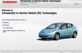 Nissan Leaf Electric Vehicle WBT Course