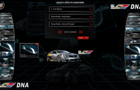Cadillac CTS-V DNA Multi-Touch